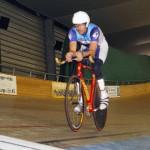 Michael Teuber auf dem Weg zum Weltrekord.